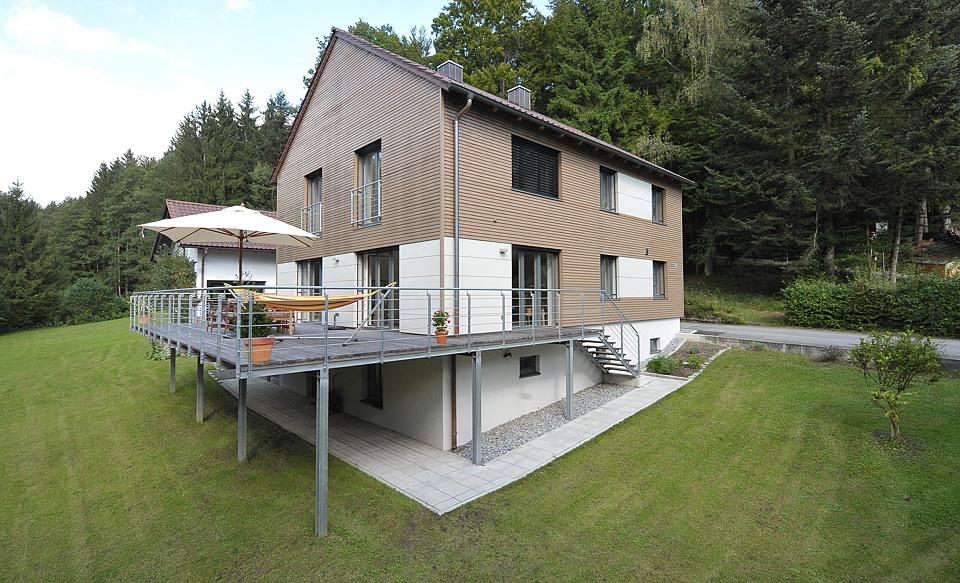 einfamilienhaus in passau zieglreuth thomas schmied dipl ing architekt. Black Bedroom Furniture Sets. Home Design Ideas